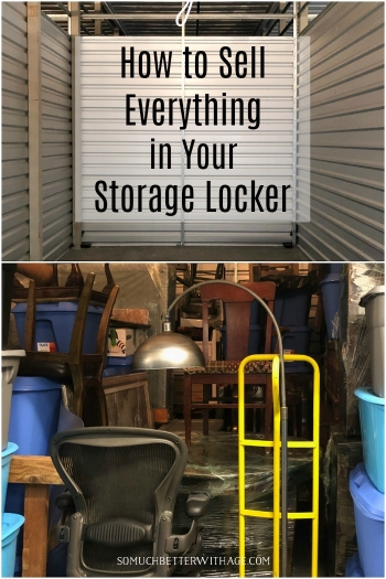 How to Sell Everything in Your Storage Unit.