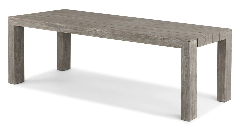 Wooden table from Article.