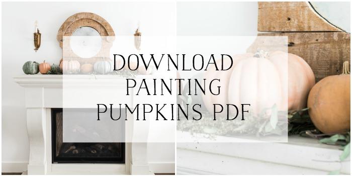 Download Painting Pumpkins PDF graphic.