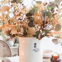 Nostalgic Fall Decorating