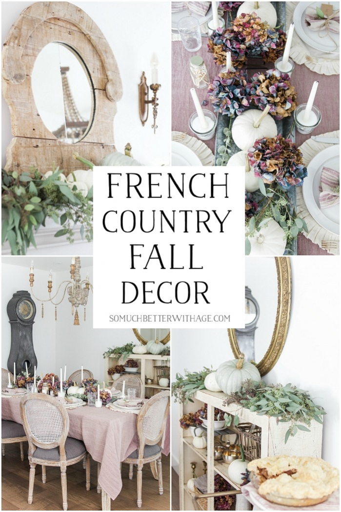 French Country Fall Decor.