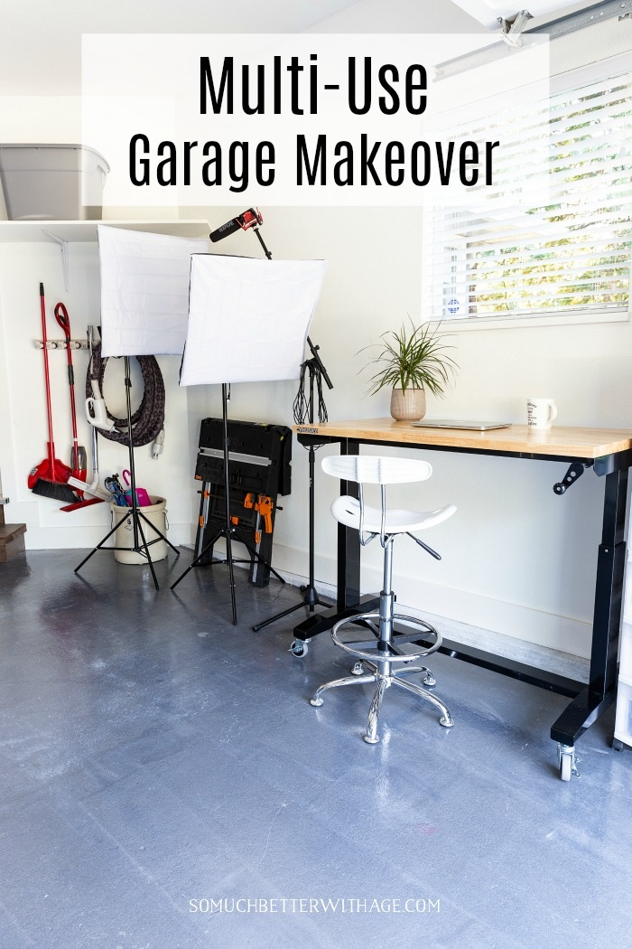 Multi-Use Garage Makeover.