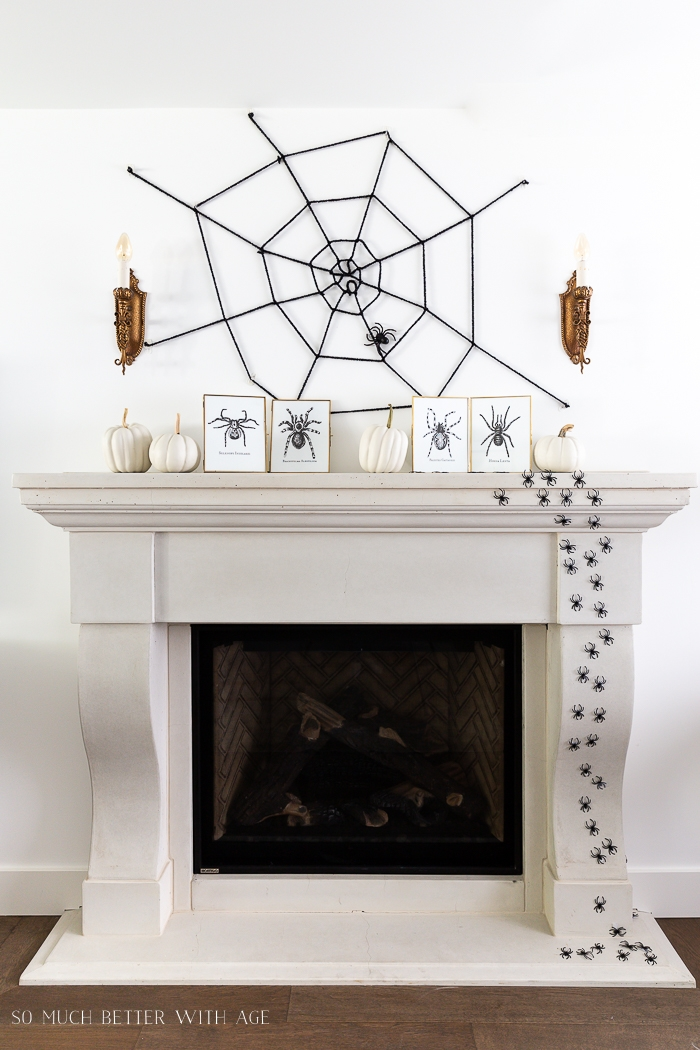 Creepy Spiders Halloween Decorating So Much Better With Age