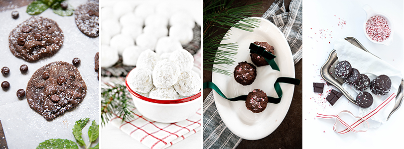Blogger tour Christmas cookies.