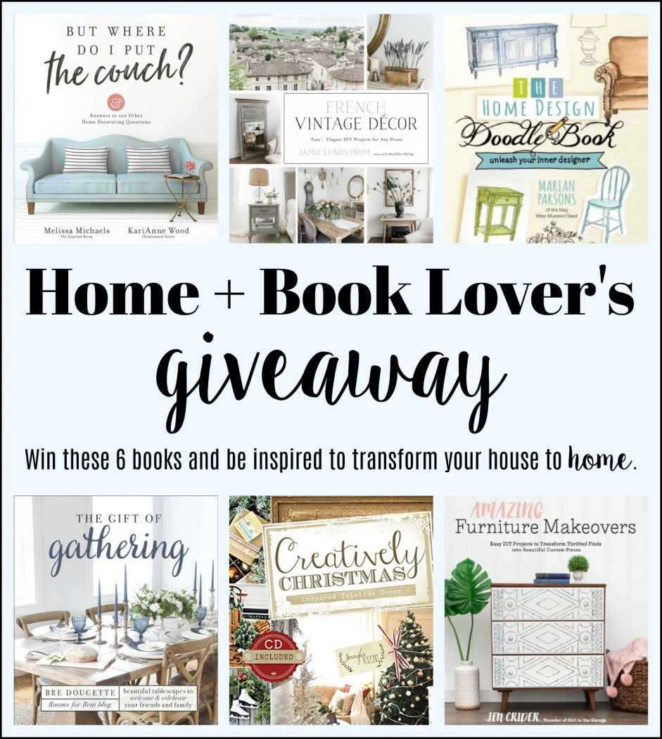 Home & Book Lover's Giveaway.