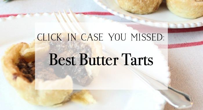 Best Butter Tarts poster.