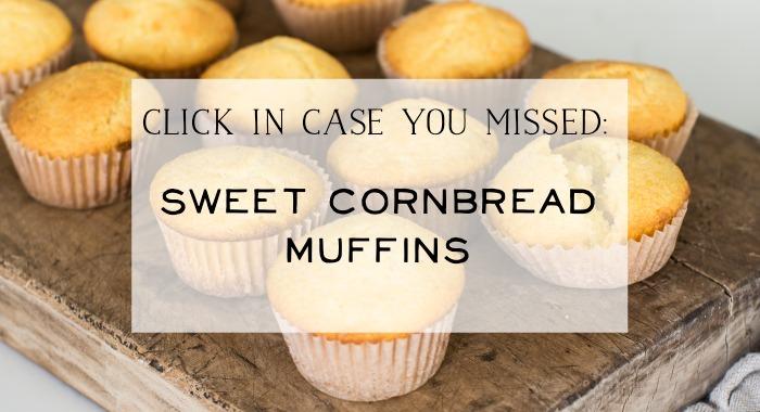 Sweet Cornbread Muffins poster.
