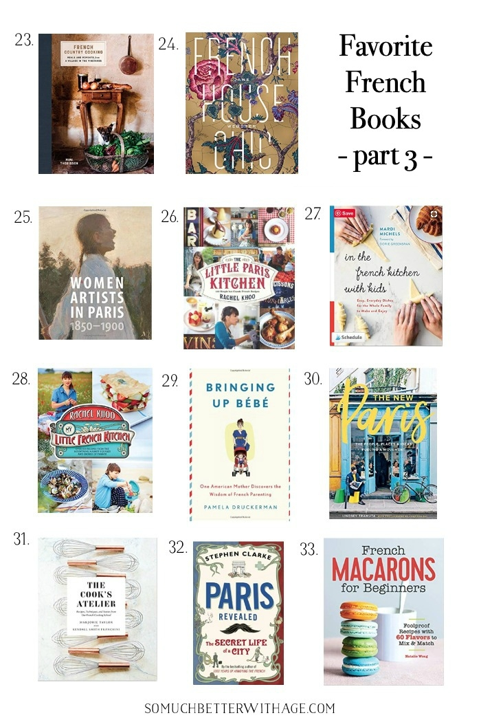 Favorite French books part 3 graphic.