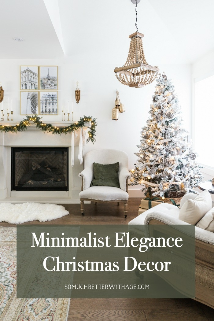 Minimalist Elegance Christmas Decor.