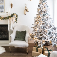 Minimalist Elegance Christmas Decor + Video