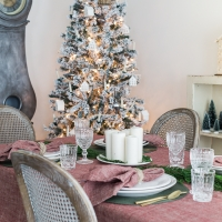 Scandinavian Style Christmas Table + Video