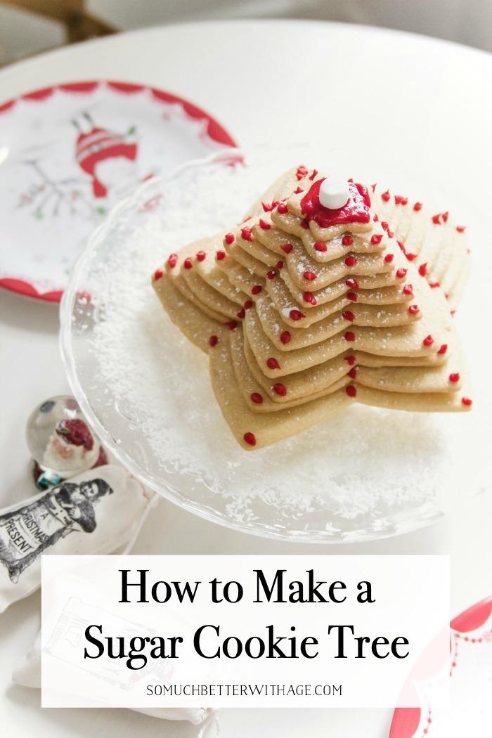 How to Make a Sugar Cookie Tree.