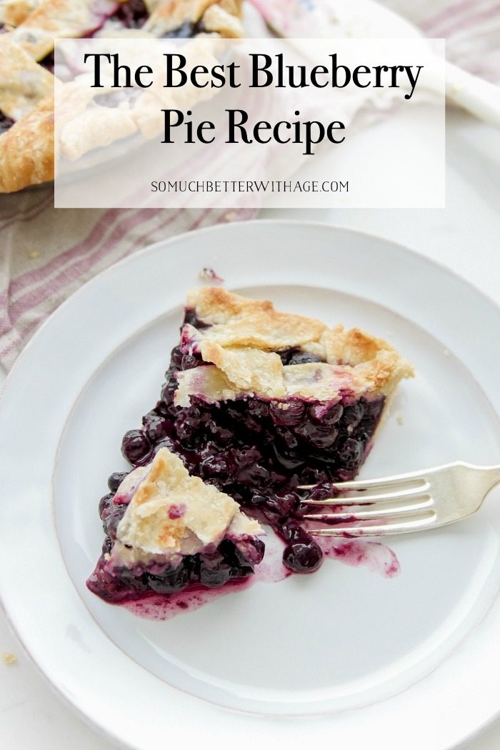 The Best Blueberry Pie Recipe.