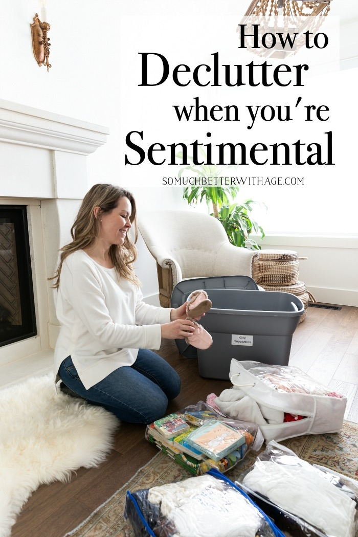 How to Declutter When You're Sentimental.