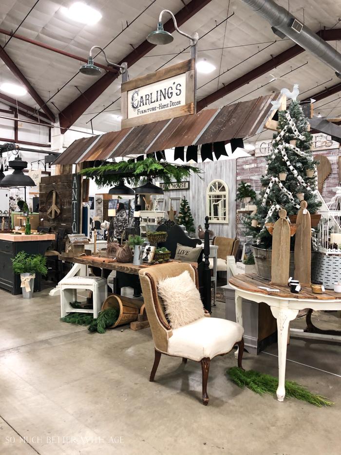 Carling's vintage market.