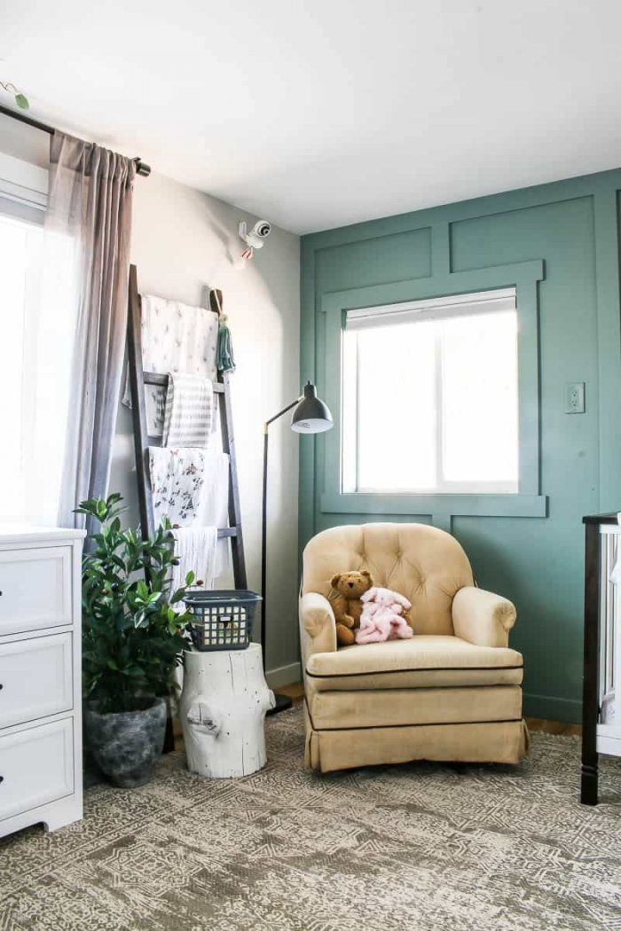 In the Moment by Behr painted room by Making Manzanita.