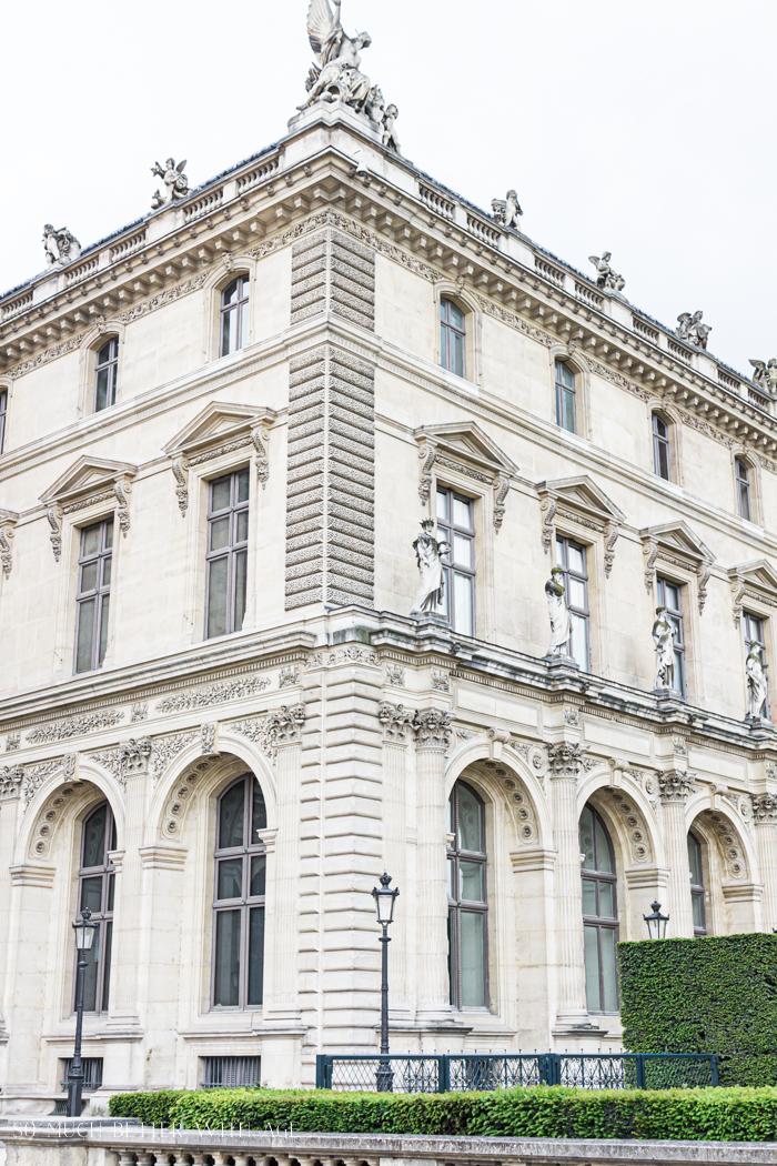 Corner of Le Louvre.