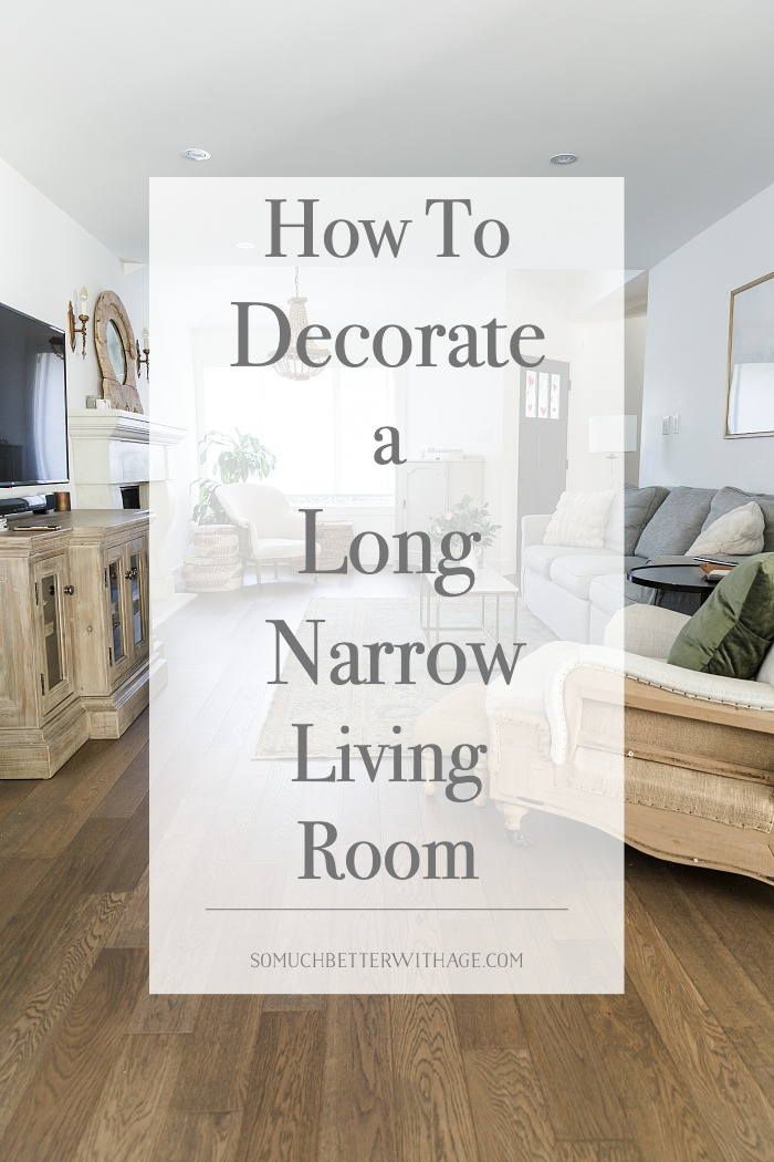How to Decorate a Long Narrow Living Room.