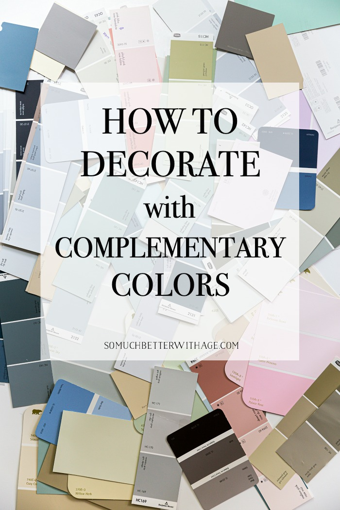 How to Decorate with Complementary Colors.