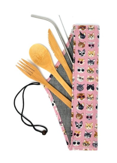 Cutlery kit by Atessa Boutique.