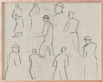 Vista View Prints - various figures.