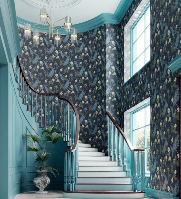Analogous color scheme by Wallpaper Direct.