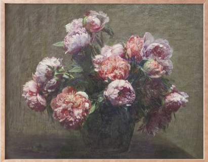 Westwoven - pink peonies.