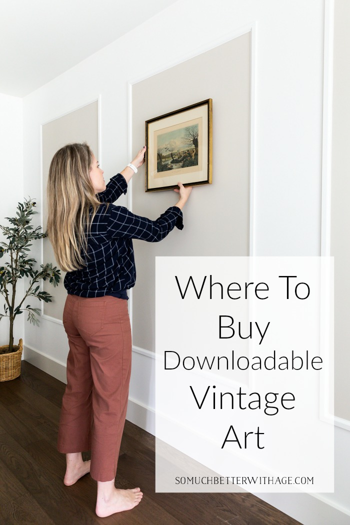 Where to Buy Downloadable Vintage Art