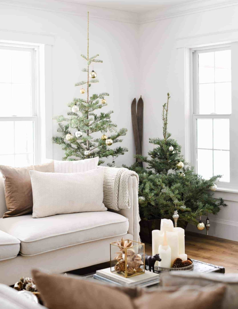 Boxwood Avenue - Simple and natural Christmas decor.
