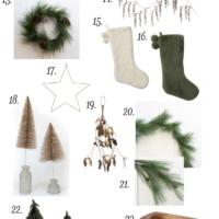 Christmas Decor (US & Canada Stores)