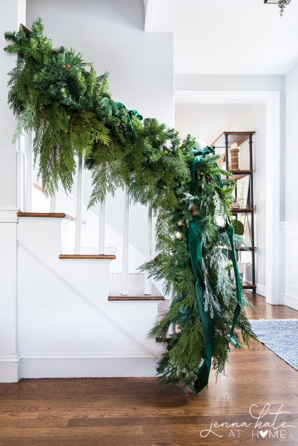 Jenna Kate at Home - Simple and natural Christmas decor.
