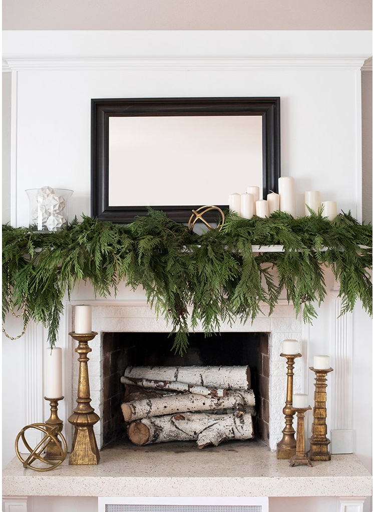 Room for Tuesday - Simple and Natural Christmas Decor.