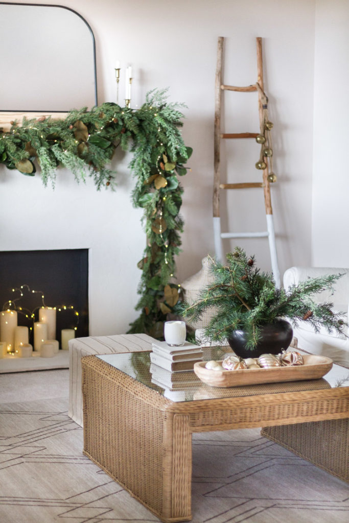 Zevy Joy - Simple and natural Christmas decor.