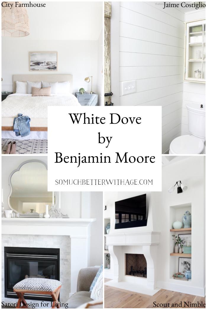 White Dove by Benjamin Moore.