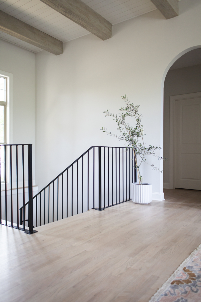 Classic Gray by Benjamin Moore painted on wall by Scout and Nimble.