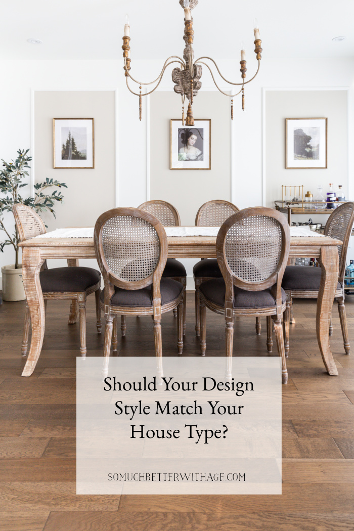 Should Your Design Style Match Your House Type?