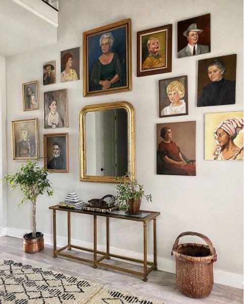 European Decorating Style designed by Kristin Laing Design.
