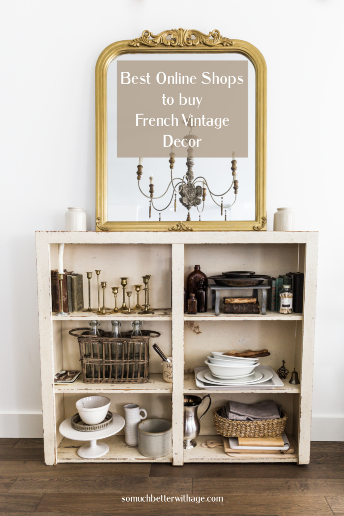 Best online shops to buy French Vintage Decor.